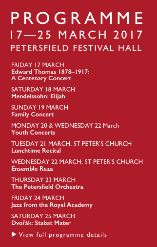 Petersfield Musical Festival 2017 Programme